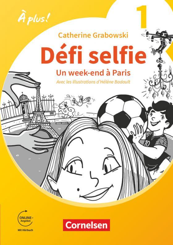 Cover-Bild Défi selfie - Un week-end à Paris - Band 1