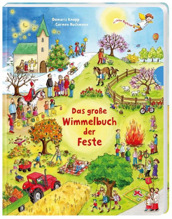 Cover-Bild Dein kleiner Begleiter: Das große Wimmelbuch der Feste