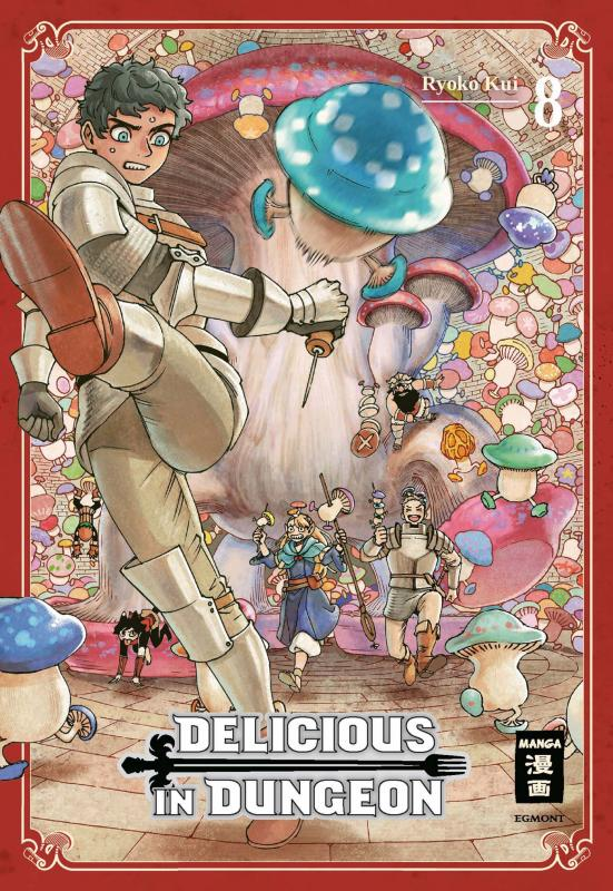 Cover-Bild Delicious in Dungeon 08
