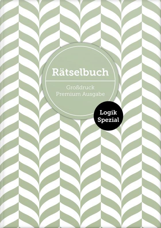 """Cover-Bild Deluxe Rätselbuch """"Logik Spezial"""" mit 140 Sudoku-Rätseln. XL Rätselbuch in Premium Ausgabe für ältere Leute, Senioren, Erwachsene und Rentner im DIN A4-Format mit extra großer Schrift."""