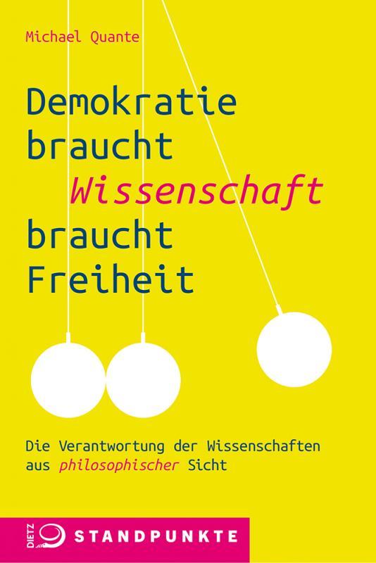 Cover-Bild Demokratie braucht Wissenschaft braucht Freiheit