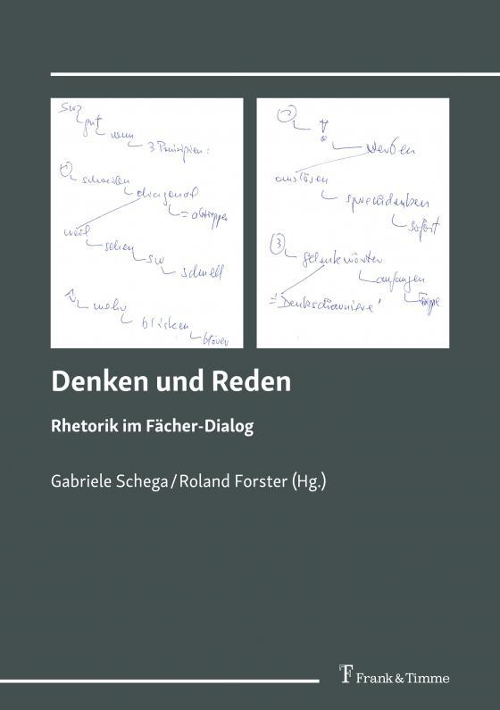 Cover-Bild Denken und Reden