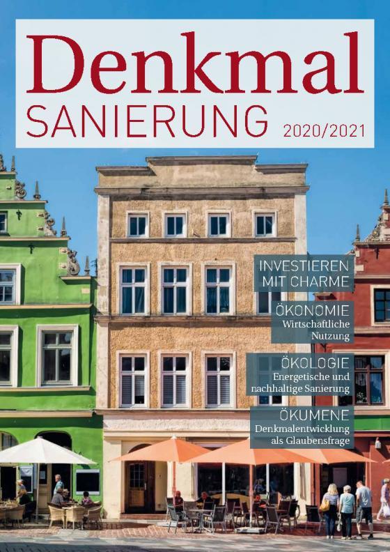 Cover-Bild Denkmalsanierung 2020/2021