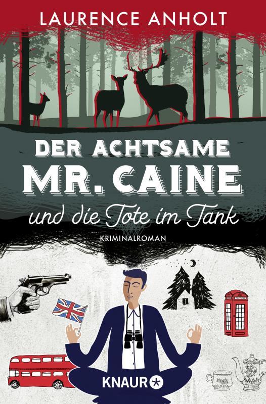 Cover-Bild Der achtsame Mr. Caine und die Tote im Tank