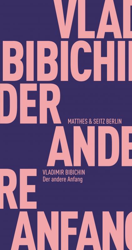 Cover-Bild Der andere Anfang