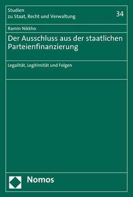Cover-Bild Der Ausschluss aus der staatlichen Parteienfinanzierung
