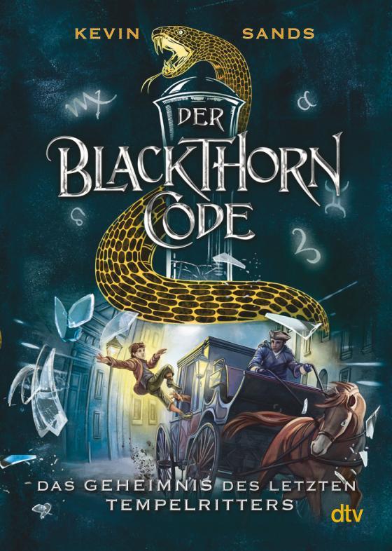 Cover-Bild Der Blackthorn-Code − Das Geheimnis des letzten Tempelritters