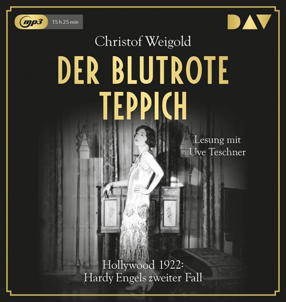 Cover-Bild Der blutrote Teppich. Hollywood 1922: Hardy Engels zweiter Fall