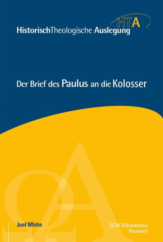 Cover-Bild Der Brief des Paulus an die Kolosser