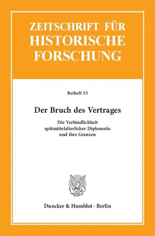 Cover-Bild Der Bruch des Vertrages.