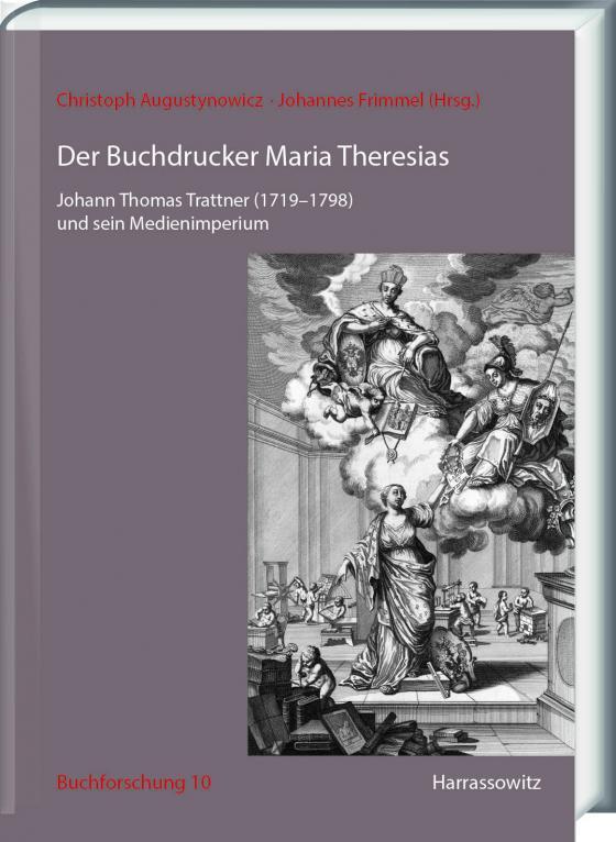 Cover-Bild Der Buchdrucker Maria Theresias