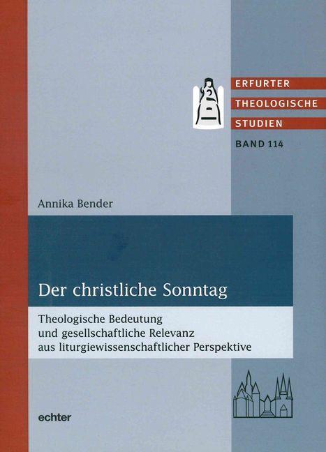 Cover-Bild Der christliche Sonntag