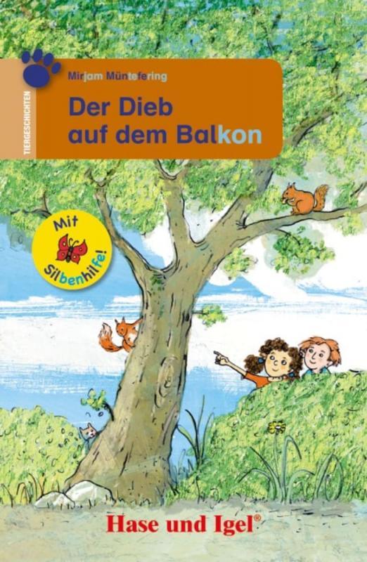 Cover-Bild Der Dieb auf dem Balkon / Silbenhilfe