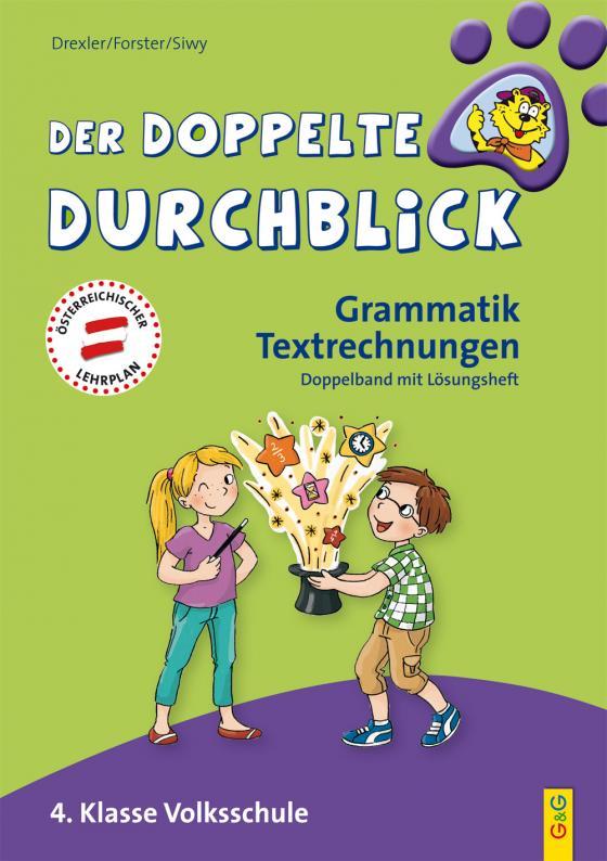Cover-Bild Der doppelte Durchblick 4 - Grammatik, Textrechnungen