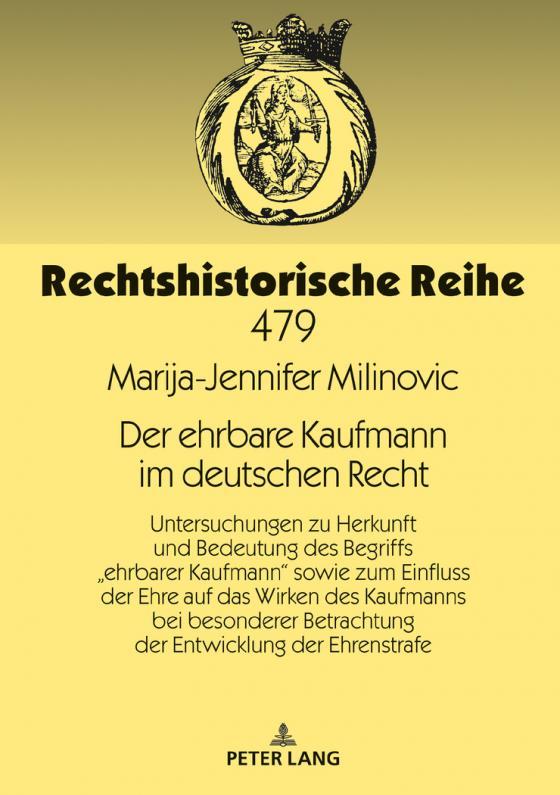 Cover-Bild Der ehrbare Kaufmann im deutschen Recht