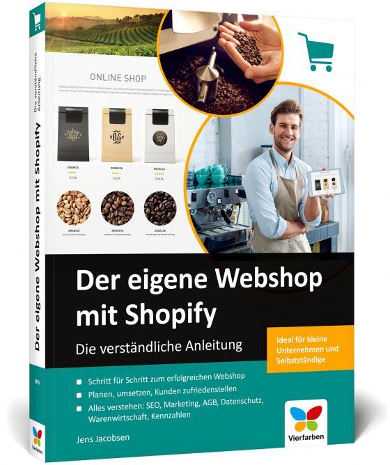 Cover-Bild Der eigene Webshop mit Shopify