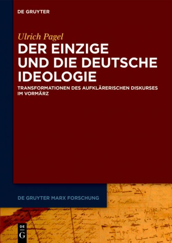 Cover-Bild Der Einzige und die Deutsche Ideologie
