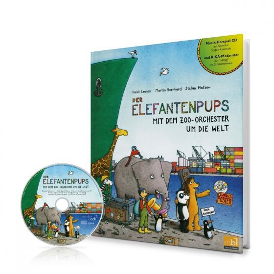 Cover-Bild Der Elefantenpups
