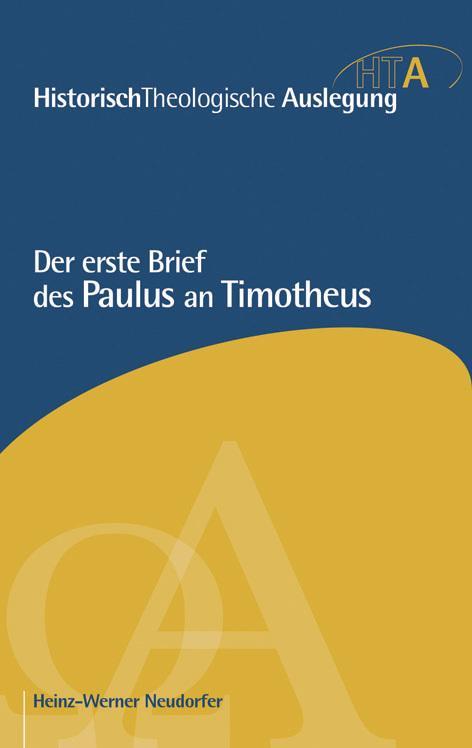 Cover-Bild Der erste Brief des Paulus an Timotheus