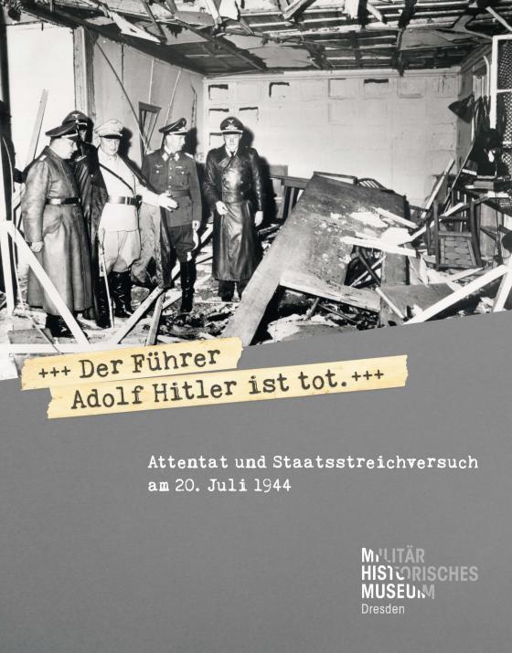 Cover-Bild »Der Führer Adolf Hitler ist tot«