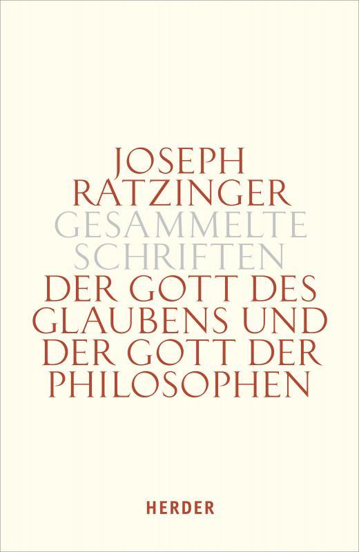 Cover-Bild Der Gott des Glaubens und der Gott der Philosophen