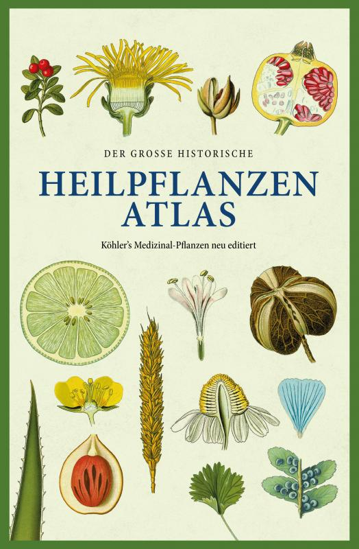 Cover-Bild Der große historische Heilpflanzen-Atlas