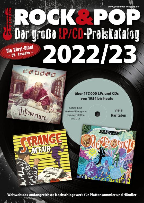 Cover-Bild Der große Rock & Pop LP/CD Preiskatalog 2022/23