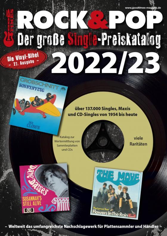 Cover-Bild Der große Rock & Pop Single Preiskatalog 2022/23