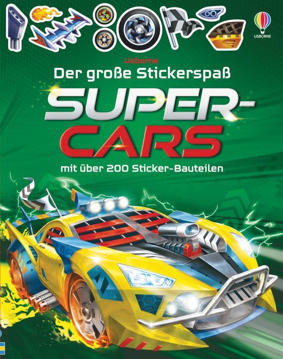 Cover-Bild Der große Stickerspaß: Supercars