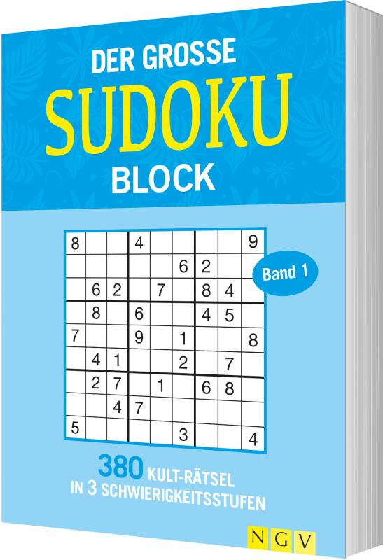 Cover-Bild Der große Sudokublock Band 1