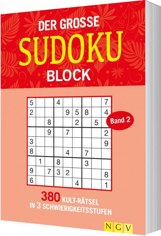 Cover-Bild Der große Sudokublock Band 2