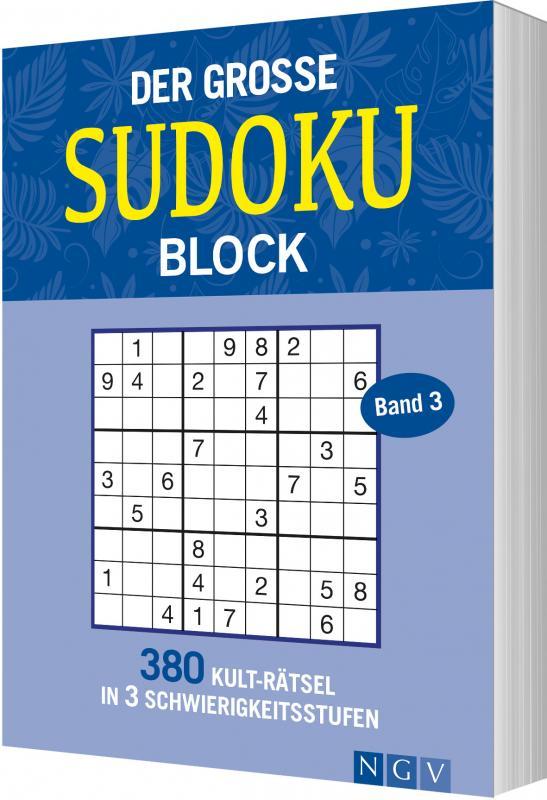 Cover-Bild Der große Sudokublock Band 3
