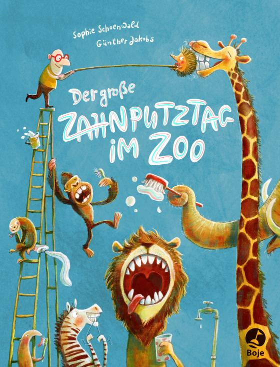 Cover-Bild Der große Zahnputztag im Zoo