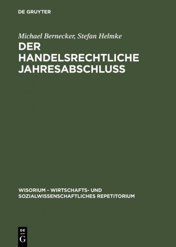 Cover-Bild Der handelsrechtliche Jahresabschluß