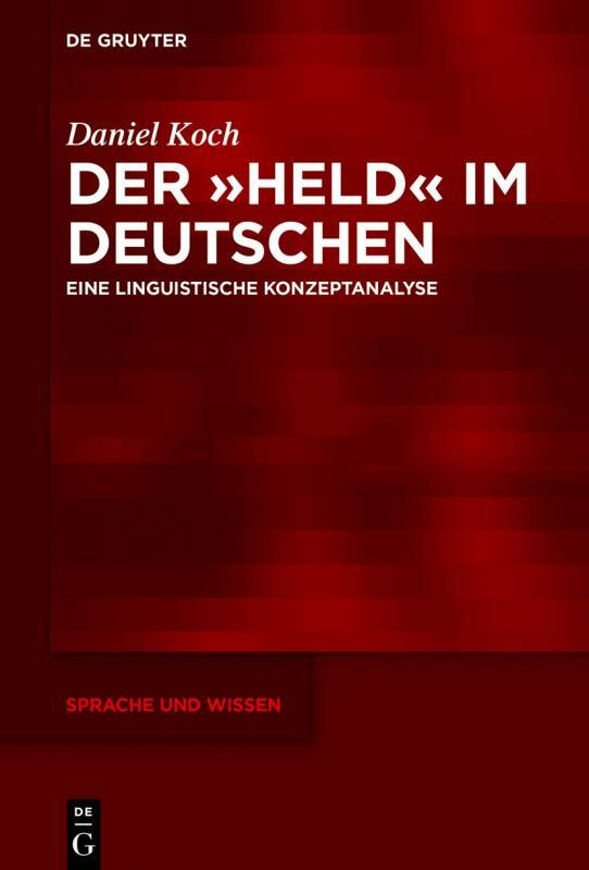 Cover-Bild Der »Held« im Deutschen