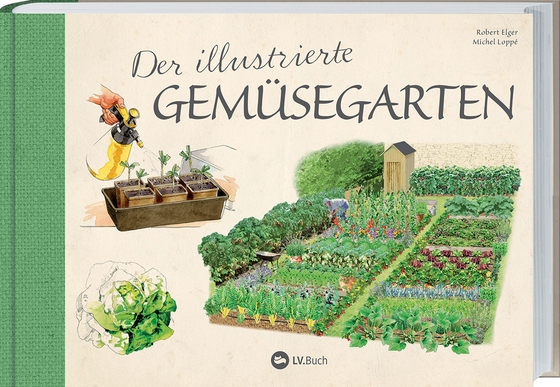 Cover-Bild Der illustrierte Gemüsegarten