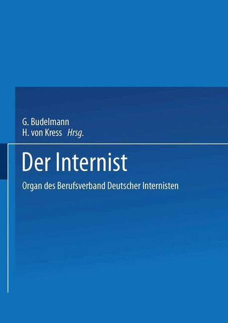 Cover-Bild Der Internist