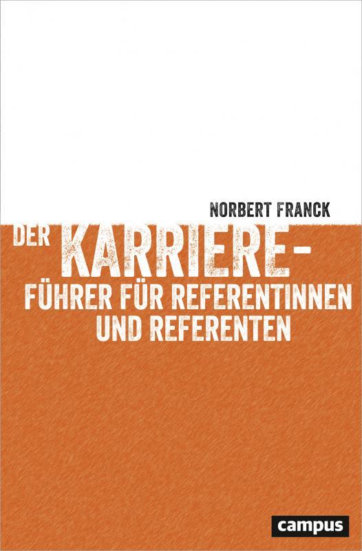Cover-Bild Der Karriereführer für Referentinnen und Referenten
