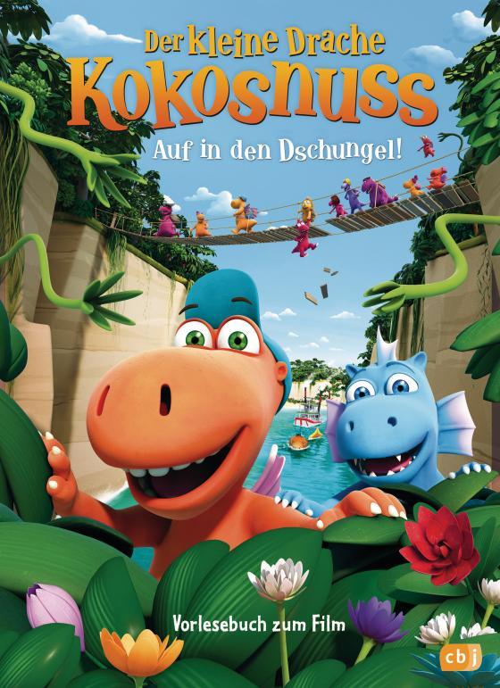 Cover-Bild Der kleine Drache Kokosnuss - Auf in den Dschungel