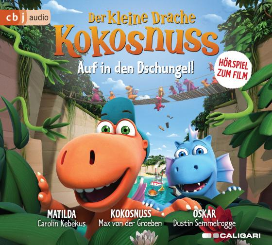 Cover-Bild Der kleine Drache Kokosnuss – Auf in den Dschungel!