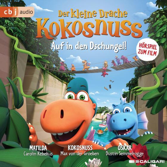 Cover-Bild Der kleine Drache Kokosnuss – Auf in den Dschungel