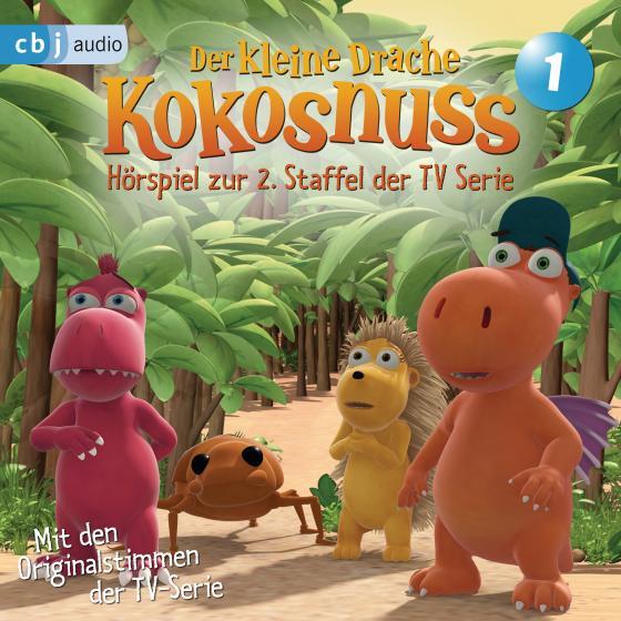 Cover-Bild Der Kleine Drache Kokosnuss - Hörspiel zur 2. Staffel der TV-Serie 01 -