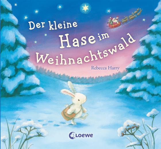 Cover-Bild Der kleine Hase im Weihnachtswald