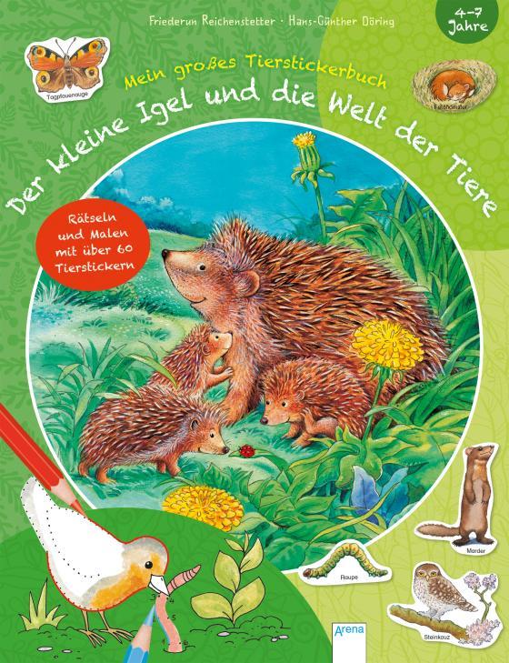 Cover-Bild Der kleine Igel und die Welt der Tiere