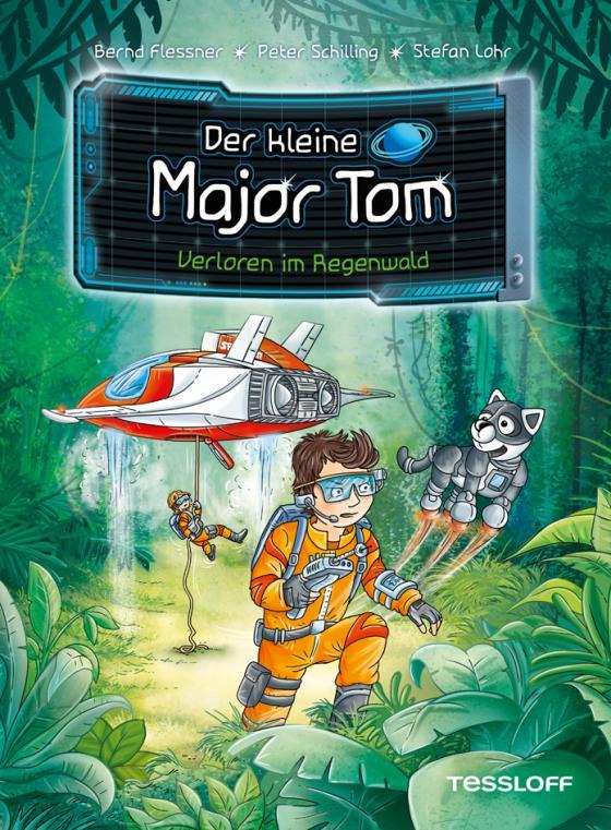 Cover-Bild Der kleine Major Tom. Band 8: Verloren im Regenwald