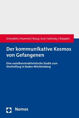 Cover-Bild Der kommunikative Kosmos von Gefangenen