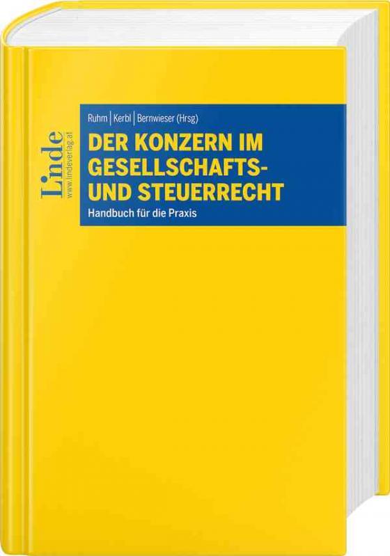 Cover-Bild Der Konzern im Gesellschafts- und Steuerrecht