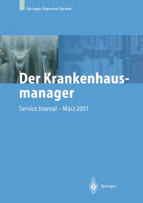 Cover-Bild Der Krankenhausmanager