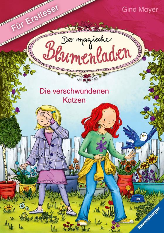 Cover-Bild Der magische Blumenladen für Erstleser, Band 1: Die verschwundenen Katzen