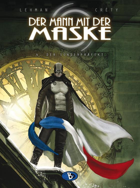 Cover-Bild Der Mann mit der Maske #4
